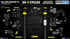 Level Medium 41) Full Body routine 7R