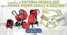 Approfitta della super offerta di #PegPerego! Corri in negozio e scegli il tuo preferito!