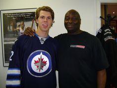 Scott Kosmachuk, BSI Athlete. Drafted by Winnipeg Jets.