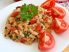 Pilaful este una dintre cele mai rapide preparate culinare, şi extrem de gustoase. Alege preferata ta din următoarele 12 reţete de pilaf. Avem si reteta de pilaf de post. Tasty, Yummy Food, Mai, Fried Rice, Cooking, Ethnic Recipes, Kitchen, Delicious Food, Stir Fry Rice