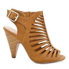 Chaussures Sling sandale cuir par nature coureurs couleur taupe taille 40 6,5