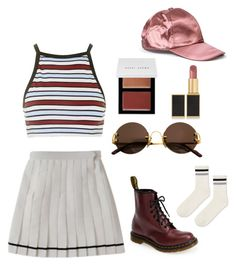 """""""#7"""" by momoka-yamada on Polyvore featuring ファッション, Motel, Dr. Martens, Cartier, Bobbi Brown Cosmetics, Tom Ford と Topshop"""