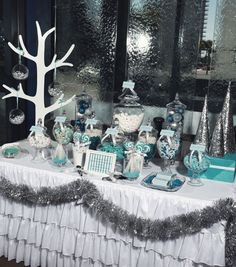"""Photo 1 of 14: winter wonderland / Christmas/Holiday """"Silver & Blue Christmas"""" 