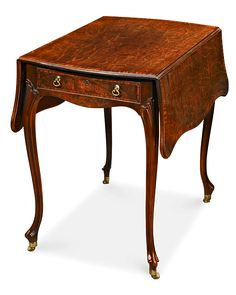 Antique Furniture, Thomas Chippendale, Pembroke Table At Rauantiques.com