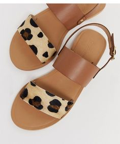 Browse online for the newest ASOS DESIGN Faye leather flat sandals in leopard styles. Shop easier with ASOS' multiple payments and return options (Ts&Cs apply). Wedge Shoes, Women's Shoes, Shoe Boots, Golf Shoes, Sports Shoes, Shoes Flats Sandals, Buy Shoes, Cute Sandals, Sport Sandals