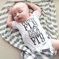 Pretty fly for a small fry ® baby onesie by Root Avenue This phrase is a registered trademark owned by Root Avenue