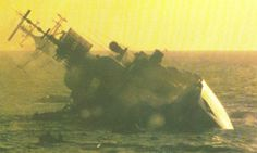 HMS Coventry  Sunk During the Falklands War