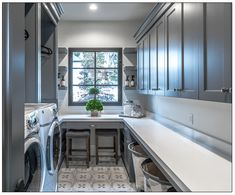 Create a laundry room you love along with a free printable cleaning guide Creat. Create a laundry room you love along with a free printable cleaning guide Create Home Storage Grey Laundry Rooms, Mudroom Laundry Room, Laundry Room Layouts, Laundry Room Remodel, Laundry Room Cabinets, Laundry Room Organization, Laundry Room Design, Gray Cabinets, Mudrooms With Laundry
