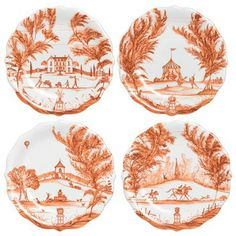 Autumnal Traditions Harvest Party Plate Set | Gracious Style
