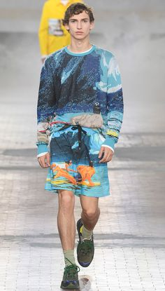 Alessandro Dell'Acqua showed his Spring/Summer 2018 collection for N°21 during Milan Fashion Week.