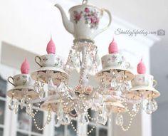 33 best teacup light fixture images tea cups decor tea on hole in the wall cap oriental id=26410