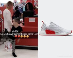 Adidas Originals NMD_R2 in White/Red - Sold Out