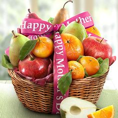 Golden State Fruit Happy Mothers Day Orchard Favorites Fruit Basket Gift