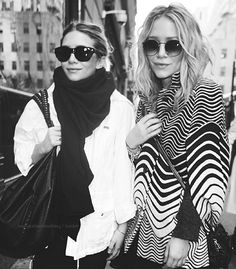 Mary Kate and Ashley Olsen love