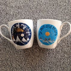 My Sun and Stars, Moon of My Life Game of Thrones Mug Set by YellowSunLisa