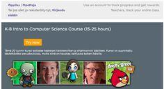 Ohjelmoinnin opetusta yläkoululla: Koodaustunti ja Code.org