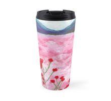 Pink Spring Travel Mug Travel Mugs, Cups, Spring, Tableware, Amazing, Design, Mugs, Dinnerware, Dishes