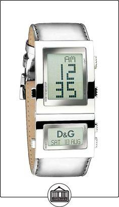 D&G DW0359 - Reloj de Señora movimiento de cuarzo con correa de piel  ✿ Relojes para mujer - (Gama media/alta) ✿
