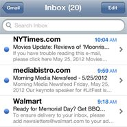Mobile email opens reached 36pc in H1: Knotice: http://www.mobilemarketer.com/cms/news/research/13719.html
