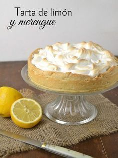 Tarta de limón y merengue. Lemon pie   Cuuking! Recetas de cocina