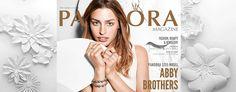 Ekskluzivno u časopisu PANDORA: Upoznajte Abby Brothers, cool model Pandora Bracelet Charms, Pandora Jewelry, Abby Brothers, Ss 15, Silver Bracelets, Persona, Meet, Magazine, Beautiful