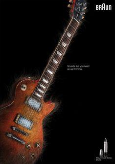 Braun Exact Series EN10: Hairy Ghetto Blaster, Hairy Guitar