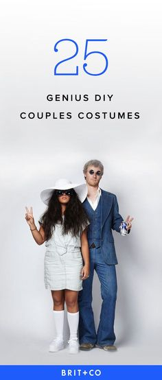Drumroll please, it's time for our second official installment of your favorite thing ever: Couples Costumes! Last year we served up 25 of the best, and this year we've got a whole new crop of DIY goodness to share with you. Happy week-before-Halloween! Group Halloween Costumes, Diy Costumes, 90s Costume, Zombie Costumes, Homemade Costumes, Family Costumes, Group Costumes, Costume Ideas, Unique Couples Costumes