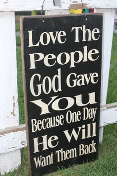 Love the people subway art wood sign by TheRustyStarSigns on Etsy, $35.00