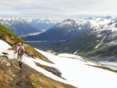 Seward Exit Glacier Harding Icefield Trail ALaska PleinAirEnVR