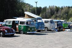 Molly - The VW Camper: VW treff i Kodal:)