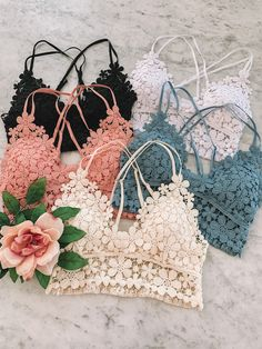 Lingerie Outfits, Pretty Lingerie, Lingerie Set, Cute Comfy Outfits, Trendy Outfits, Cute Bralettes, Jugend Mode Outfits, Teen Fashion Outfits, Ideias Fashion