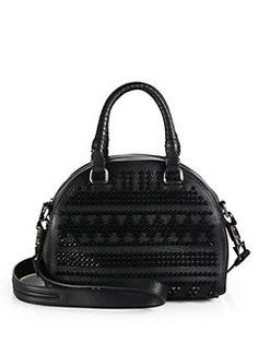 Christian Louboutin - Studded Bowler Bag