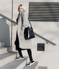 Adidas Gazelle06 #adidas #adidasgazelle #ganni #teddycoat #mansurgavriel #bucketbag #woodwood #miniskirt #ootd #lotd #bloggerstyle #streetstyle