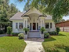 """Sears """"Crescent"""" Kit Home in Jacksonville, Florida House, Cottage Style, Craftsman Bungalows, Vintage House, House Exterior, House Styles, Rent To Own Homes, Craftsman House, Cottage Plan"""