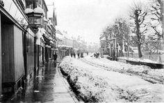 Bartholomew Street 1908 - with snow