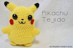Pokemon Crochet Pattern, Pikachu Crochet, Crotchet Patterns, Crochet Amigurumi Free Patterns, Crochet Dolls, Cute Crochet, Crochet Crafts, Knitting Projects, Crochet Projects