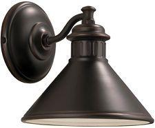 "Patio al aire libre Lámpara De Pared porche exterior Linterna Accesorio de iluminación de Bronce Candelabro De Pared De 8 """