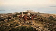 El Gran Capitán - Galería de Augusto Ferrer-Dalmau • Cazadores de Lusitania en el Monte Ubayo 1909