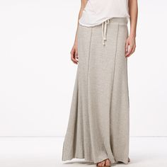 I LOVE long skirts - they just feel so feminine, (and they hide my legs which aren't exactly Cyd Charise like).