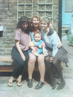 From left to right: Sarah, Sharon, Alison, Max / North London / Early North London, Couples, Couple Photos, Couple Pics, Couple