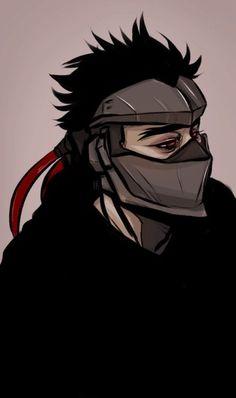 callmeik @ tumblr Overwatch Hanzo, Overwatch Fan Art, Character Art, Character Design, Genji Shimada, Overwatch Wallpapers, Fire Image, Samurai Art, Ghost In The Shell