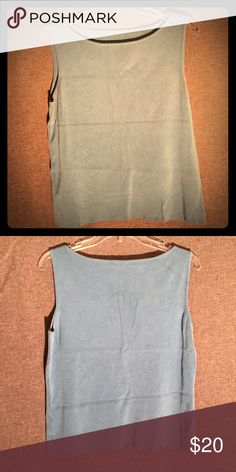 Tank top. Large. Tank top. Turquoise Large. Tag is removed. Rarely worn. Tops