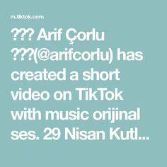 ✨💥🔥 Arif Çorlu 🔥💥✨(@arifcorlu) has created a short video on TikTok with music orijinal ses. 29 Nisan Kutlu Olsun Çocuklar 💗❤️💗 #HerkesÇocukOlacak #23nisan #23nisankutluolsun #arifcorlu #trend #powerAwesome #foryou #tiktok A & R, Music, Tik Tok, Rasputin, Create, Good Night, Musica, Nighty Night, Musik