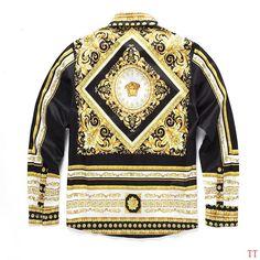 bfdcf0b69f6e5 Versace medusa silk shirt. BenzinOOsales