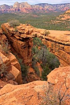 Devil's Bridge - Sedona, Arizona. This is a pretty cool hike, way to get to the top of the bridge