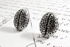 Brain Earrings. Oh I *have* to buy these after the Canadian postal postal strike ends!