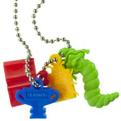 Reading Trophy Charm - Honor little bookworms with this tiny trophy.
