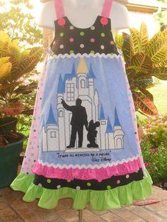 Magic Kingdom vida dress - amazing work by a disboutiquer