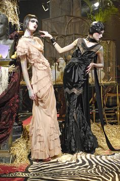 One of my all time favorite shows: John Galliano Fall 2007