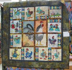 Pieceful Afternoon: Quilt Show - and Mosaic Monday